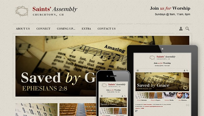 Church Website 1203