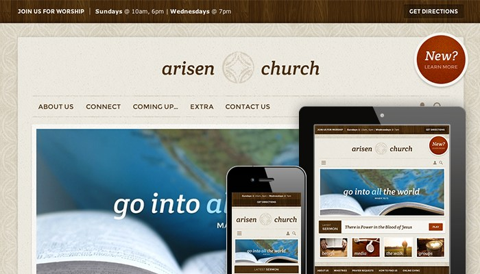 Church Website 1309